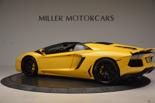 Used 2015 Lamborghini Aventador LP 700-4 Roadster for sale Sold at Aston Martin of Greenwich in Greenwich CT 06830 4