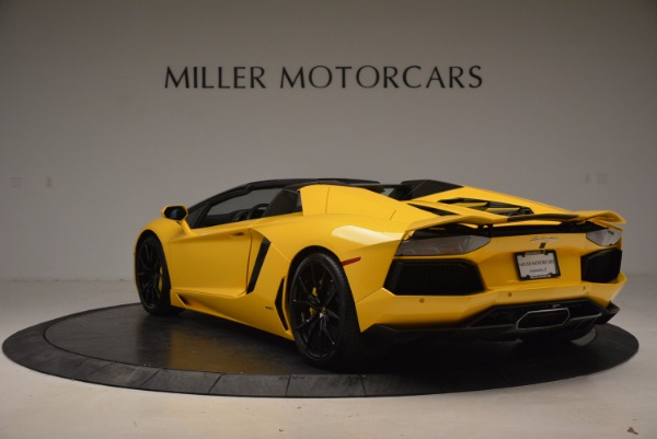 Used 2015 Lamborghini Aventador LP 700-4 Roadster for sale Sold at Aston Martin of Greenwich in Greenwich CT 06830 5