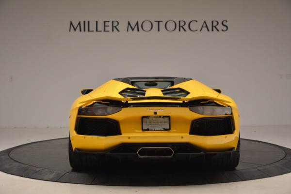 Used 2015 Lamborghini Aventador LP 700-4 Roadster for sale Sold at Aston Martin of Greenwich in Greenwich CT 06830 6