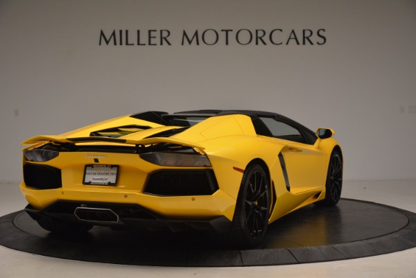 Used 2015 Lamborghini Aventador LP 700-4 Roadster for sale Sold at Aston Martin of Greenwich in Greenwich CT 06830 8