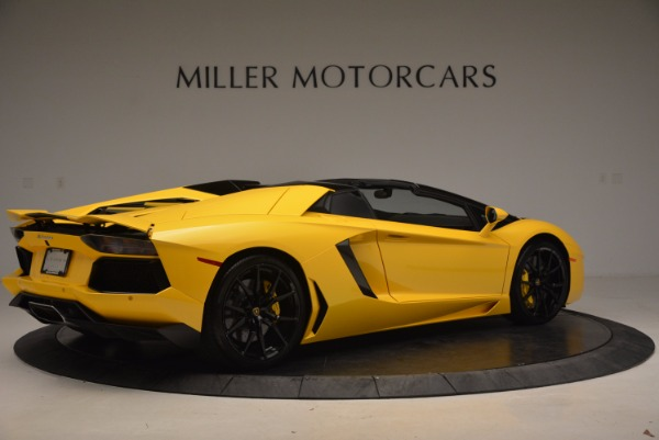 Used 2015 Lamborghini Aventador LP 700-4 Roadster for sale Sold at Aston Martin of Greenwich in Greenwich CT 06830 9