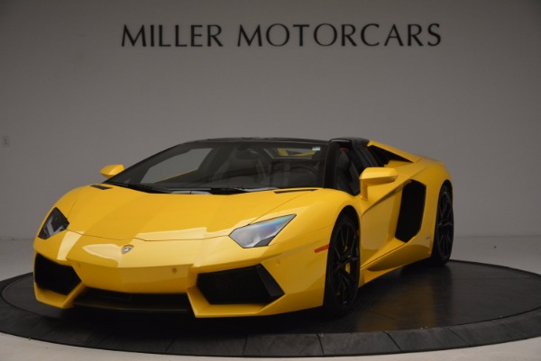 Used 2015 Lamborghini Aventador LP 700-4 Roadster for sale Sold at Aston Martin of Greenwich in Greenwich CT 06830 1