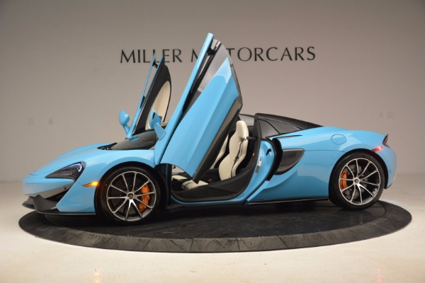 New 2018 McLaren 570S Spider for sale Sold at Aston Martin of Greenwich in Greenwich CT 06830 16