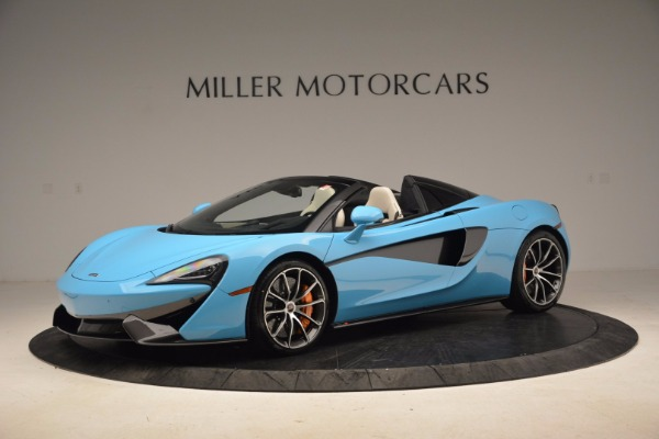 New 2018 McLaren 570S Spider for sale Sold at Aston Martin of Greenwich in Greenwich CT 06830 2