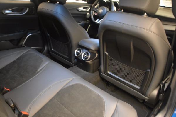 New 2018 Alfa Romeo Giulia Quadrifoglio for sale Sold at Aston Martin of Greenwich in Greenwich CT 06830 22