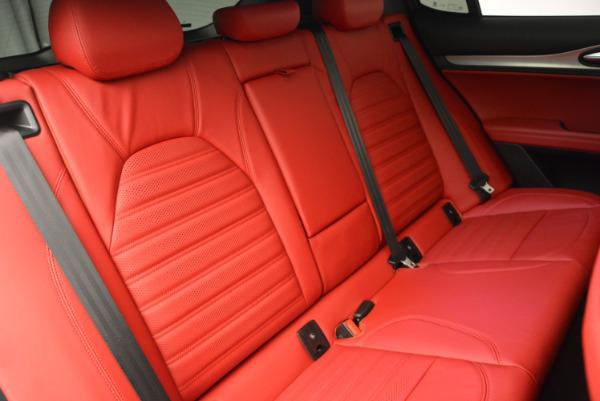 New 2018 Alfa Romeo Stelvio Ti Sport Q4 for sale Sold at Aston Martin of Greenwich in Greenwich CT 06830 24