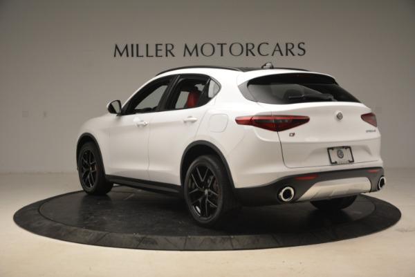New 2018 Alfa Romeo Stelvio Ti Sport Q4 for sale Sold at Aston Martin of Greenwich in Greenwich CT 06830 5
