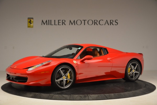 Used 2013 Ferrari 458 Spider for sale Sold at Aston Martin of Greenwich in Greenwich CT 06830 14