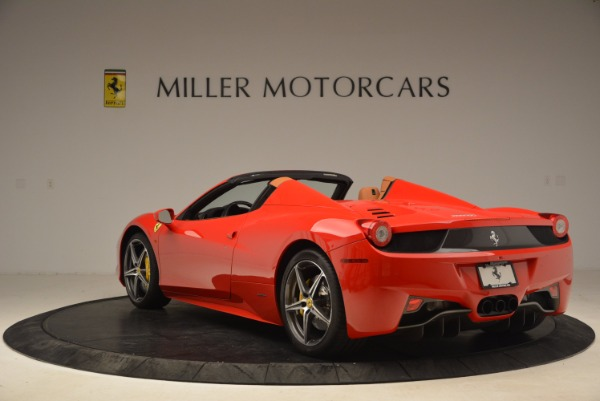 Used 2013 Ferrari 458 Spider for sale Sold at Aston Martin of Greenwich in Greenwich CT 06830 5