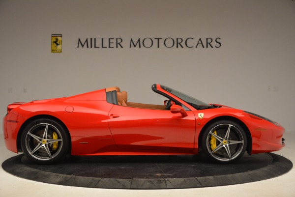 Used 2013 Ferrari 458 Spider for sale Sold at Aston Martin of Greenwich in Greenwich CT 06830 9
