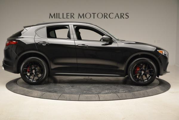 New 2018 Alfa Romeo Stelvio Ti Sport Q4 for sale Sold at Aston Martin of Greenwich in Greenwich CT 06830 9