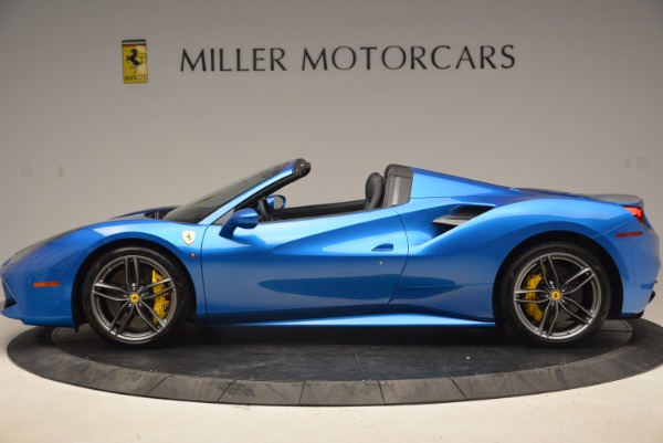 Used 2017 Ferrari 488 Spider for sale Sold at Aston Martin of Greenwich in Greenwich CT 06830 3