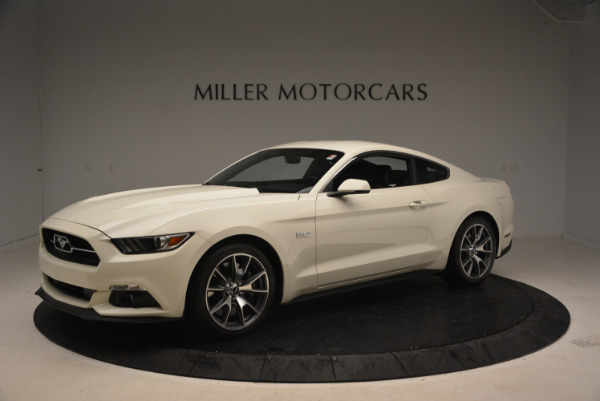 Used 2015 Ford Mustang GT 50 Years Limited Edition for sale Sold at Aston Martin of Greenwich in Greenwich CT 06830 2