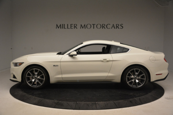 Used 2015 Ford Mustang GT 50 Years Limited Edition for sale Sold at Aston Martin of Greenwich in Greenwich CT 06830 3