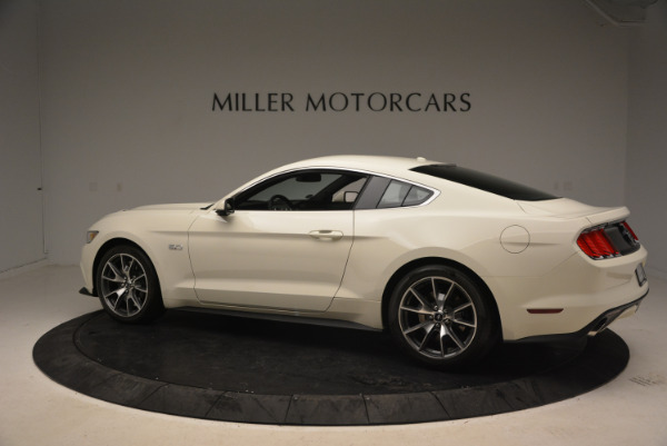 Used 2015 Ford Mustang GT 50 Years Limited Edition for sale Sold at Aston Martin of Greenwich in Greenwich CT 06830 4