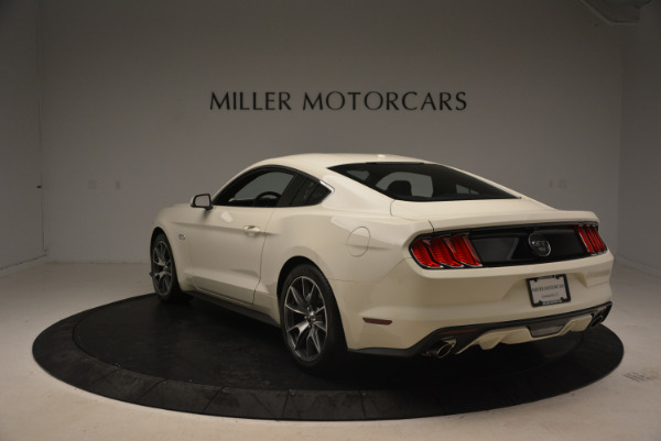 Used 2015 Ford Mustang GT 50 Years Limited Edition for sale Sold at Aston Martin of Greenwich in Greenwich CT 06830 5