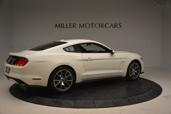 Used 2015 Ford Mustang GT 50 Years Limited Edition for sale Sold at Aston Martin of Greenwich in Greenwich CT 06830 8