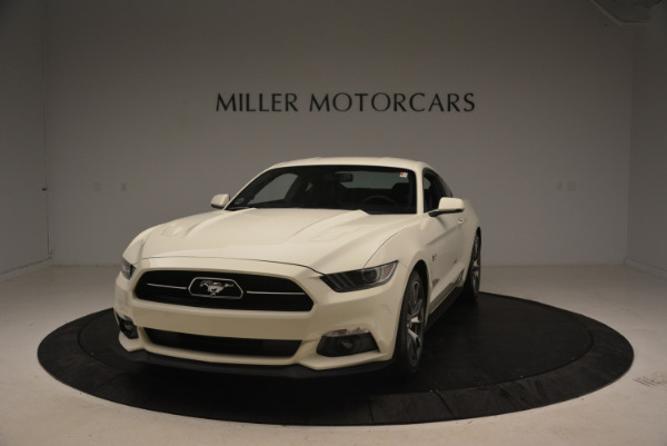 Used 2015 Ford Mustang GT 50 Years Limited Edition for sale Sold at Aston Martin of Greenwich in Greenwich CT 06830 1