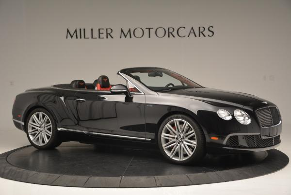 Used 2014 Bentley Continental GT Speed Convertible for sale Sold at Aston Martin of Greenwich in Greenwich CT 06830 10