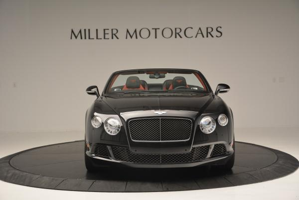 Used 2014 Bentley Continental GT Speed Convertible for sale Sold at Aston Martin of Greenwich in Greenwich CT 06830 12