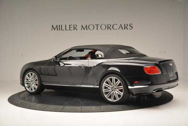 Used 2014 Bentley Continental GT Speed Convertible for sale Sold at Aston Martin of Greenwich in Greenwich CT 06830 17