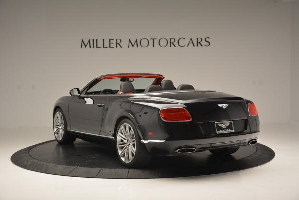 Used 2014 Bentley Continental GT Speed Convertible for sale Sold at Aston Martin of Greenwich in Greenwich CT 06830 5