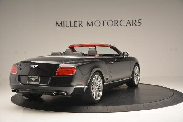 Used 2014 Bentley Continental GT Speed Convertible for sale Sold at Aston Martin of Greenwich in Greenwich CT 06830 7