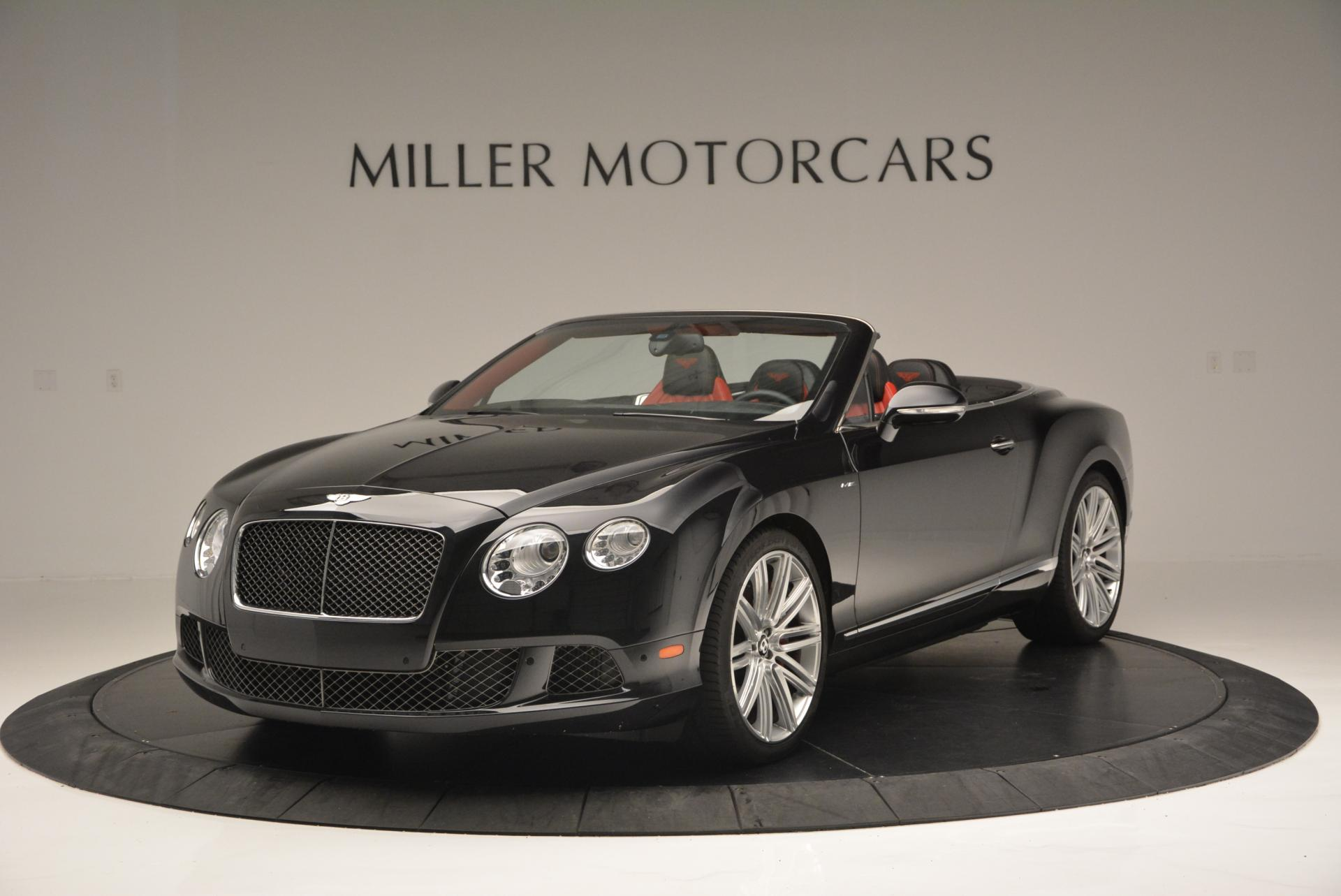 Used 2014 Bentley Continental GT Speed Convertible for sale Sold at Aston Martin of Greenwich in Greenwich CT 06830 1