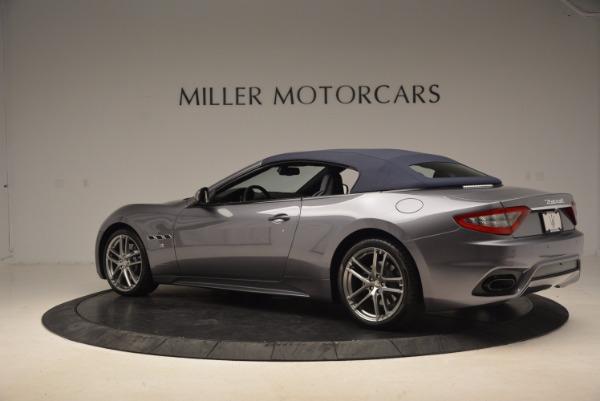 New 2018 Maserati GranTurismo Sport Convertible for sale Sold at Aston Martin of Greenwich in Greenwich CT 06830 7