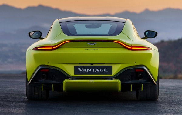 New 2019 Aston Martin Vantage for sale Call for price at Aston Martin of Greenwich in Greenwich CT 06830 3