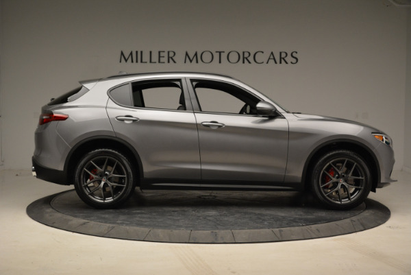 New 2018 Alfa Romeo Stelvio Ti Sport Q4 for sale Sold at Aston Martin of Greenwich in Greenwich CT 06830 9