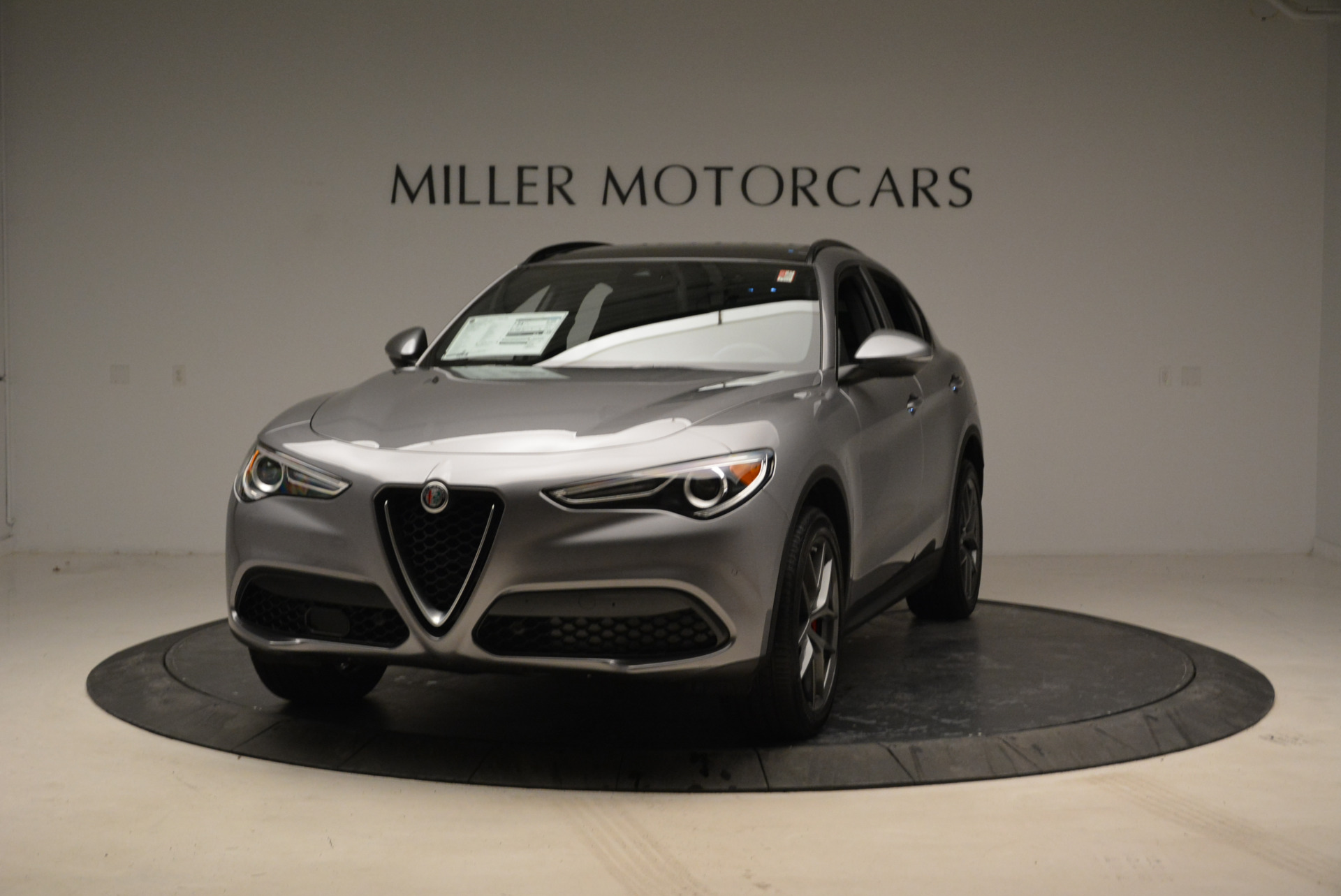 New 2018 Alfa Romeo Stelvio Ti Sport Q4 for sale Sold at Aston Martin of Greenwich in Greenwich CT 06830 1