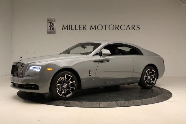 New 2018 Rolls-Royce Wraith Black Badge for sale Sold at Aston Martin of Greenwich in Greenwich CT 06830 2