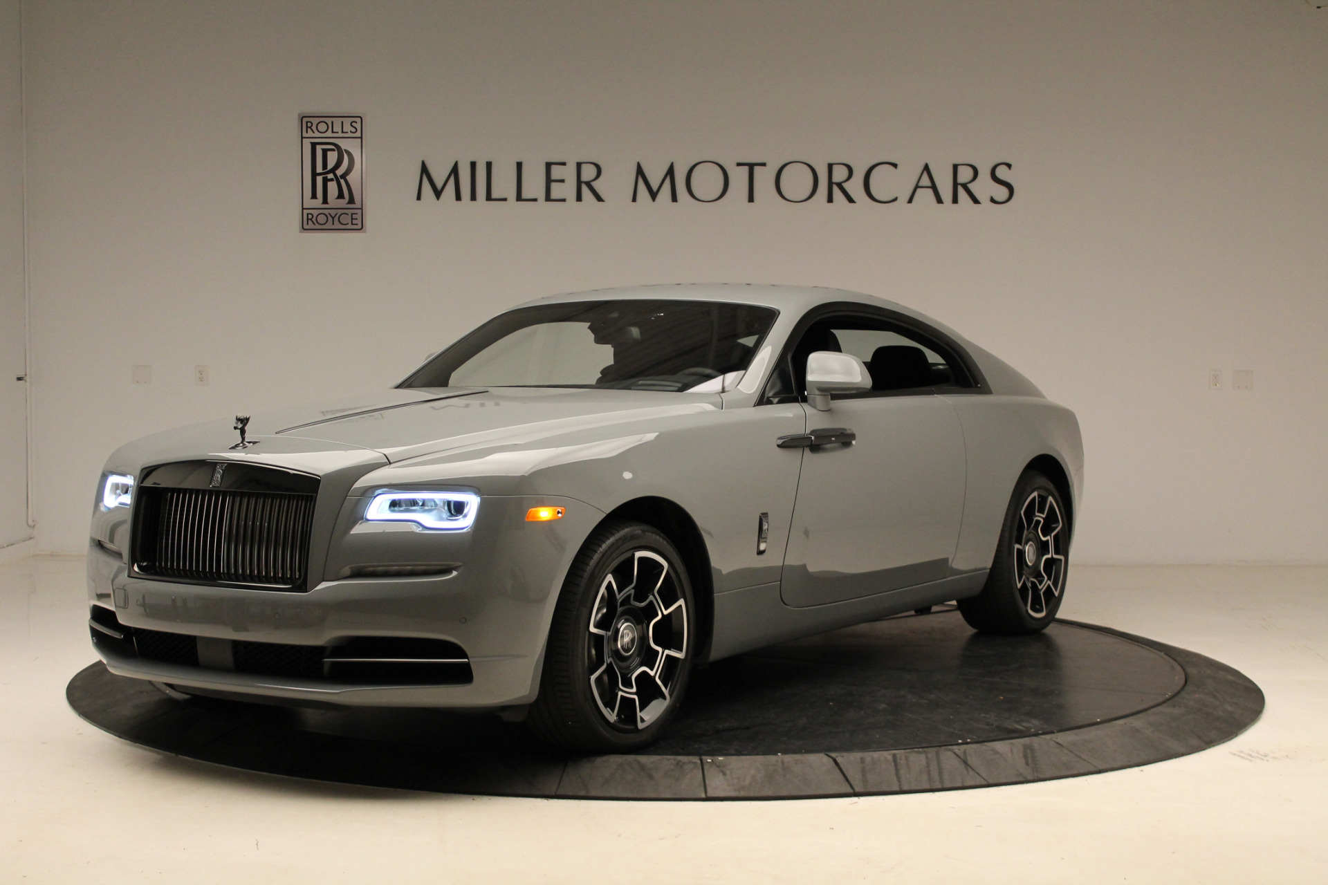New 2018 Rolls-Royce Wraith Black Badge for sale Sold at Aston Martin of Greenwich in Greenwich CT 06830 1