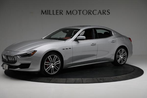 New 2018 Maserati Ghibli S Q4 GranLusso for sale Sold at Aston Martin of Greenwich in Greenwich CT 06830 2