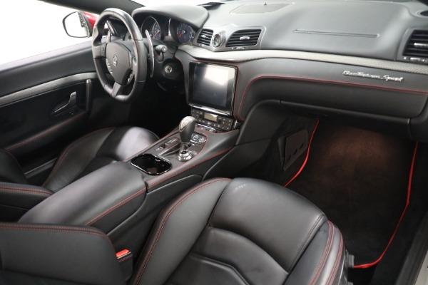 Used 2018 Maserati GranTurismo Sport for sale $94,900 at Aston Martin of Greenwich in Greenwich CT 06830 18