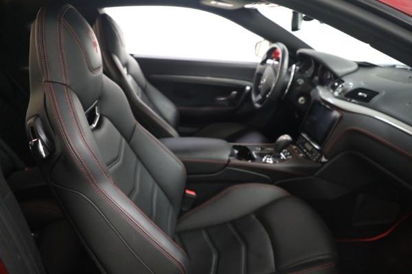 Used 2018 Maserati GranTurismo Sport for sale $94,900 at Aston Martin of Greenwich in Greenwich CT 06830 19