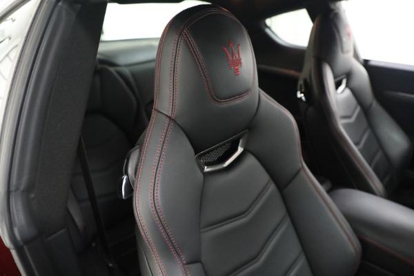 Used 2018 Maserati GranTurismo Sport for sale $94,900 at Aston Martin of Greenwich in Greenwich CT 06830 20