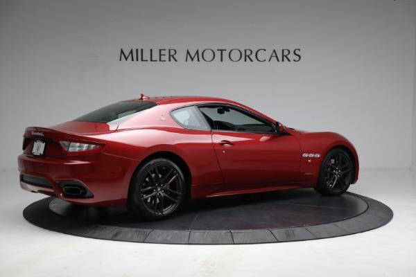 Used 2018 Maserati GranTurismo Sport for sale $94,900 at Aston Martin of Greenwich in Greenwich CT 06830 8