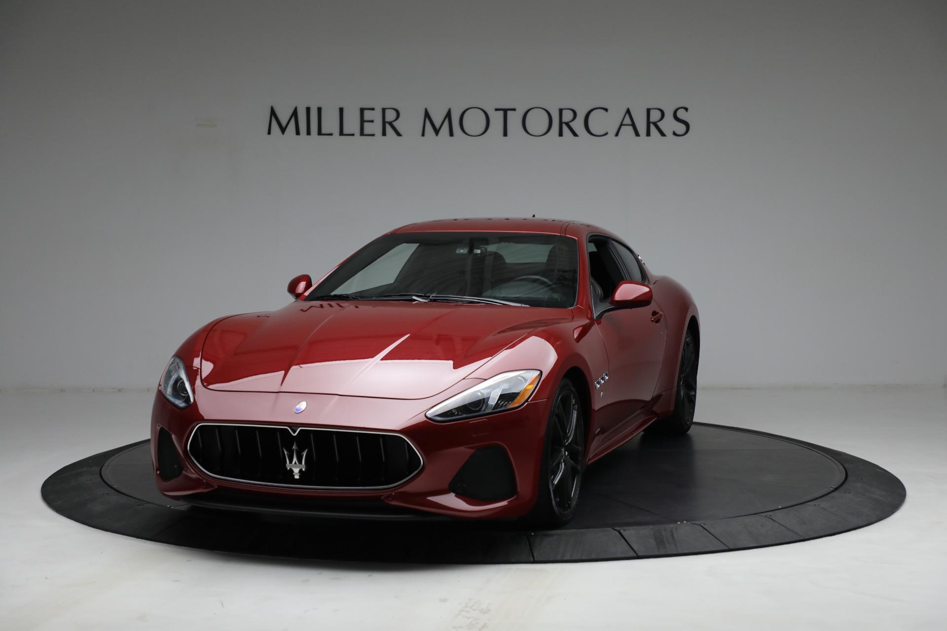 Used 2018 Maserati GranTurismo Sport for sale $94,900 at Aston Martin of Greenwich in Greenwich CT 06830 1