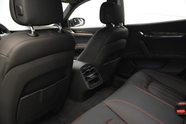 Used 2018 Maserati Quattroporte S Q4 GranLusso for sale Sold at Aston Martin of Greenwich in Greenwich CT 06830 19