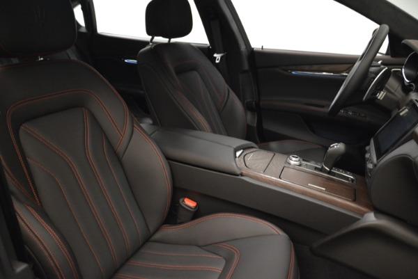 Used 2018 Maserati Quattroporte S Q4 GranLusso for sale Sold at Aston Martin of Greenwich in Greenwich CT 06830 22
