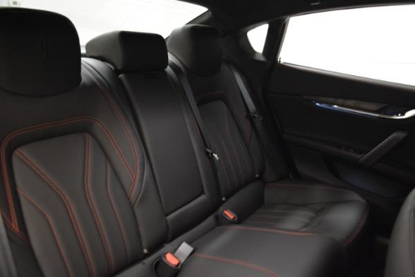 Used 2018 Maserati Quattroporte S Q4 GranLusso for sale Sold at Aston Martin of Greenwich in Greenwich CT 06830 25