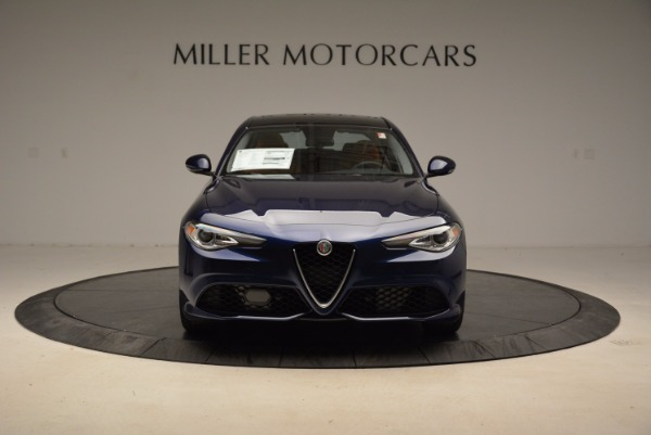 New 2018 Alfa Romeo Giulia Sport Q4 for sale Sold at Aston Martin of Greenwich in Greenwich CT 06830 12