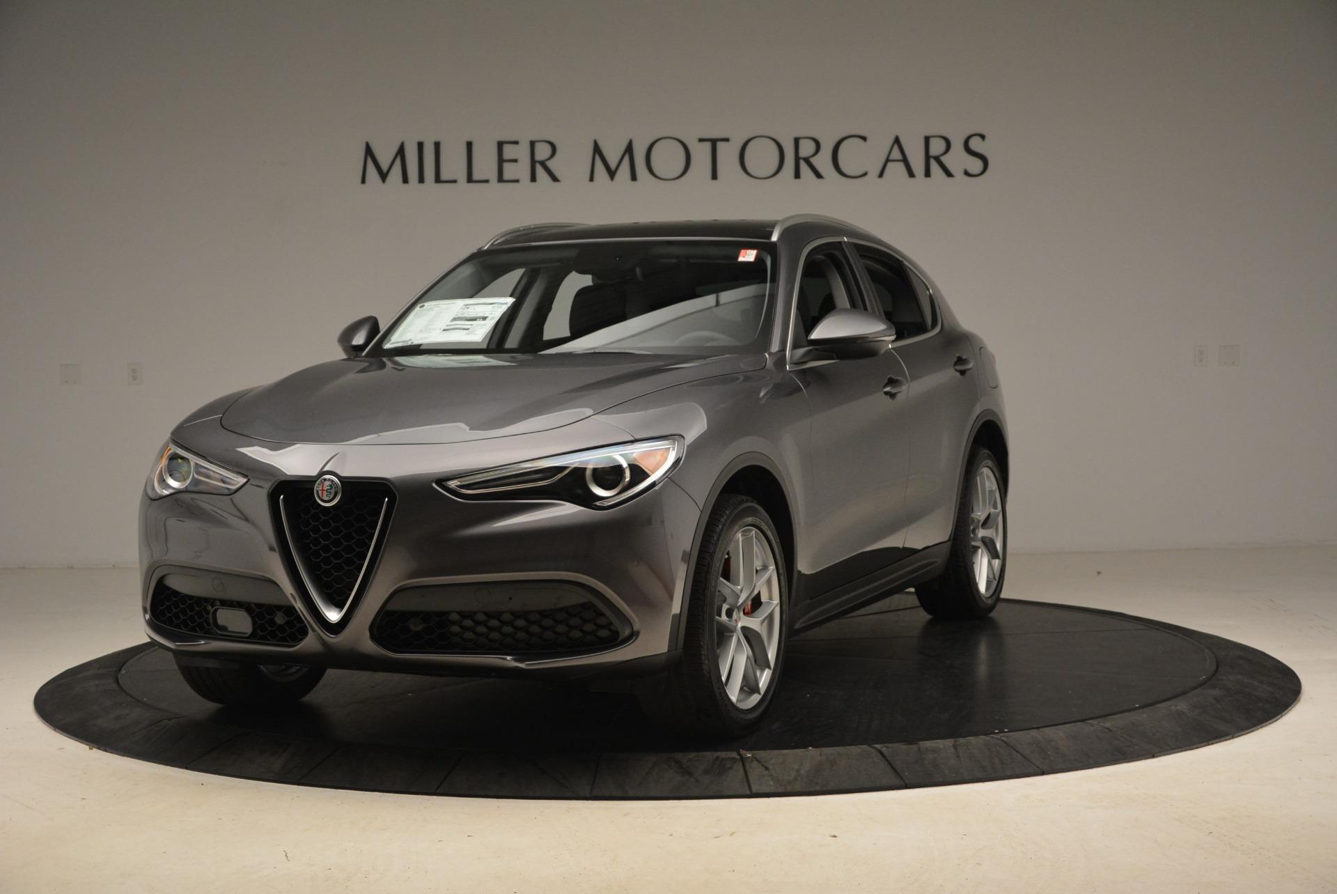 New 2018 Alfa Romeo Stelvio Ti Q4 for sale Sold at Aston Martin of Greenwich in Greenwich CT 06830 1