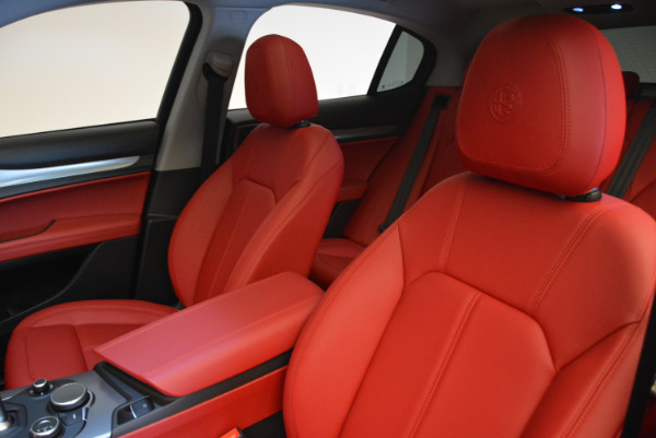 New 2018 Alfa Romeo Stelvio Sport Q4 for sale Sold at Aston Martin of Greenwich in Greenwich CT 06830 15