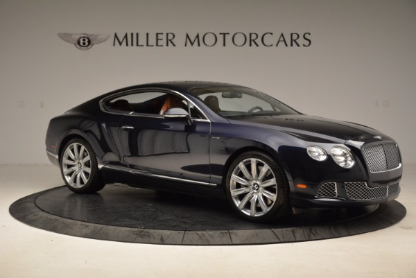 Used 2014 Bentley Continental GT W12 for sale Sold at Aston Martin of Greenwich in Greenwich CT 06830 10