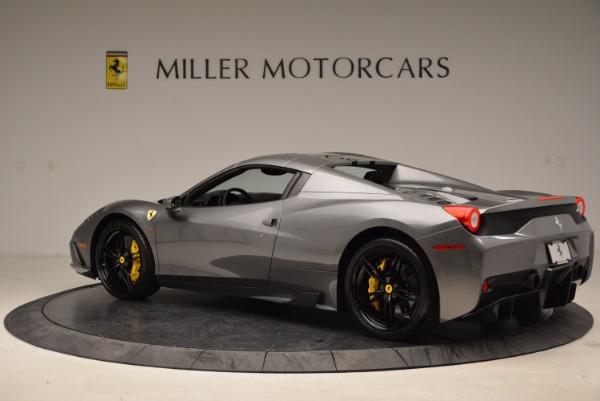 Used 2015 Ferrari 458 Speciale Aperta for sale Sold at Aston Martin of Greenwich in Greenwich CT 06830 16
