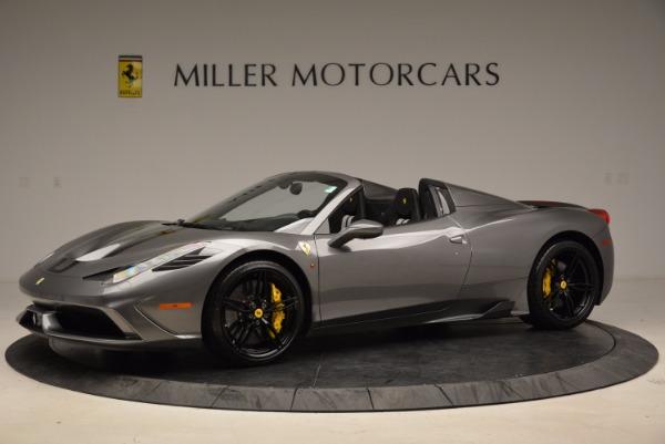 Used 2015 Ferrari 458 Speciale Aperta for sale Sold at Aston Martin of Greenwich in Greenwich CT 06830 2