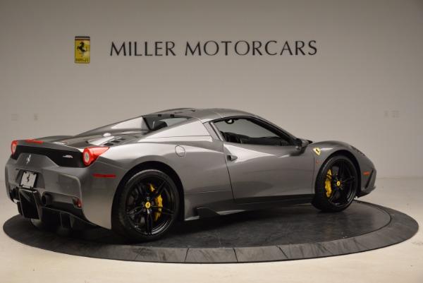 Used 2015 Ferrari 458 Speciale Aperta for sale Sold at Aston Martin of Greenwich in Greenwich CT 06830 20